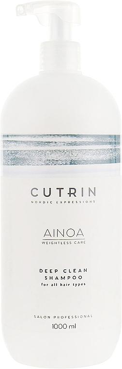 Głęboko oczyszczający szampon do włosów - Cutrin Ainoa Deep Clean Shampoo — фото N1