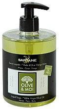 Kup Mydło w płynie z oliwą z oliwek - Saryane Olive & Moi Liquid Soap