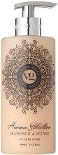 Kup Mydło w płynie Grejpfrut i wetyweria - Vivian Gray Aroma Selection Creme Soap
