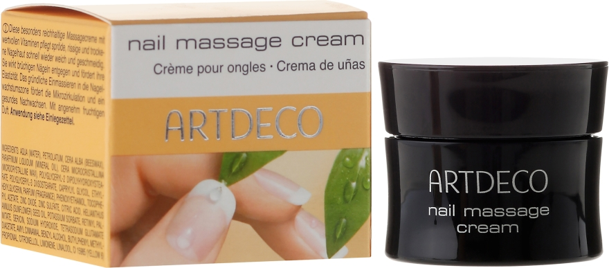 Krem do masażu paznokci - Artdeco Nail Massage Cream