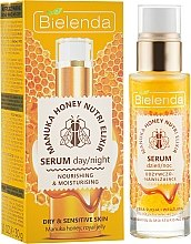 Kup Odżywczo-nawilżające serum do twarzy Miód Manuka i mleczko pszczele - Bielenda Manuka Honey Nutri Elixir Serum