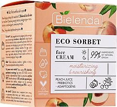 Kup Nawilżająco-odżywczy krem do twarzy - Bielenda Eco Sorbet Moisturizing&Nourishing Face Cream
