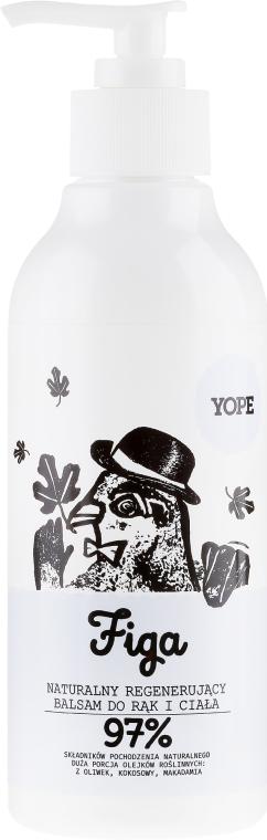 Naturalny balsam do rąk i ciała - Yope Figa
