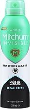 Kup Antyperspirant-dezodorant dla kobiet - Mitchum Invisible Women 48HR Protection Clear Fresh Antiperspirant & Deodorant