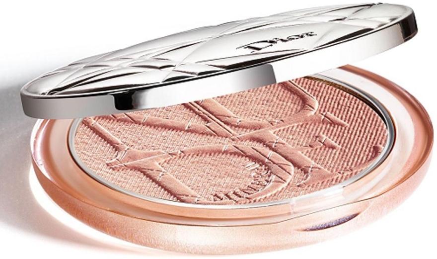 Mineralny rozświetlacz w pudrze do twarzy - Dior Diorskin Mineral Nude Luminizer Powder — фото N2