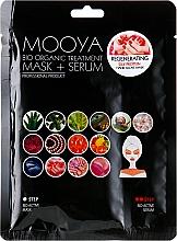 Kup Maska + serum, Proteiny jedwabiu regeneracja dłoni - Beauty Face Mooya Bio Organic Treatment Mask + Serum
