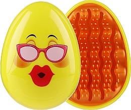 Kup Szczotka do włosów 3002W, buźka w okularach - IDC Institute Design Smile Brush