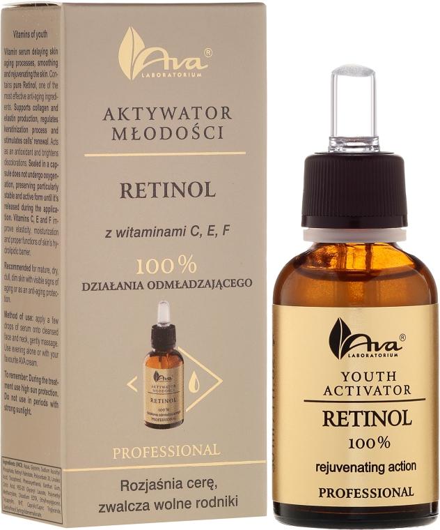 Serum witaminowe Retinol 100% - AVA Laboratorium Professional Aktywator młodości