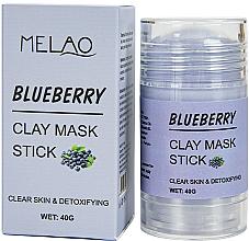 Kup Glinkowa maska w sztyfcie do twarzy Borówka - Melao Blueberry Clay Mask Stick