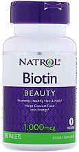 Kup Biotyna, 1000 mcg - Natrol Biotin Beuty