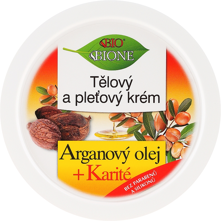 Rodzinny krem do twarzy z olejem arganowym - Bione Cosmetics Argan Oil Facial Cream For The Whole Family