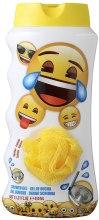 Kup Żel pod prysznic dla dzieci z gąbką Emotki - EP Line Emotions Shower Gel