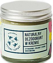 Kup Naturalny dezodorant w kremie Cytrusowo-ziołowy z ziemią okrzemkową - Cztery Szpaki