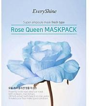Kup Nawilżająca maseczka w płachcie do twarzy - EveryShine Rose Queen Mask Pack Blue