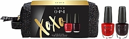 Kup Zestaw - OPI Love XOXO Lacquer Duo Gift Set (nail/2x3.75ml + bag)