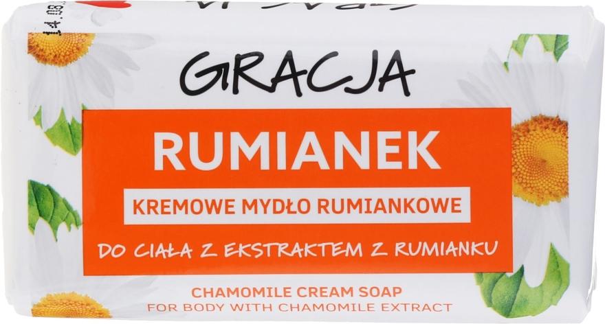 Kremowe mydło rumiankowe w kostce - Gracja — фото N1