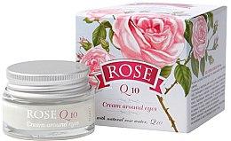 Kup Krem pod oczy z naturalną wodą różaną i koenzymem Q10 - Bulgarian Rose Rose Q10 Cream Araund Eyes