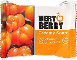 Kup Kremowe mydło w kostce Malina moroszka i olej cedrowy - Very Berry Cloudberry & Cedar Nuts Oil