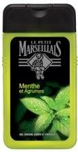 Kup Żel pod prysznic do ciała i włosów dla mężczyzn Mięta i cytrusy - Le Petit Marseillais