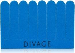 Kup Zestaw pilników do paznokci 8 w 1, niebieski - Divage Dolly Collection