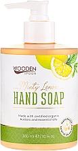 Kup Mydło w płynie do rąk Miętowa cytryna - Wooden Spoon Minty Lemon Hand Soap