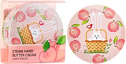 Kup Parowy krem do rąk Brzoskwinia - SeaNtree Steam Hand Butter Cream Soft Peach Bunny