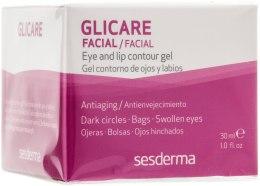Kup Przeciwstarzeniowy żel do okolic oczu i ust - SesDerma Laboratories Glycare Eye and Lip Contour Gel