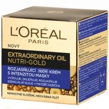 Kup Odżywczy krem do twarzy na noc - L'Oreal Paris Nutri-Gold Extraordinary Oil Night Cream