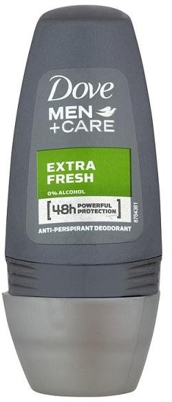 Antyperspirant-dezodorant w kulce dla mężczyzn - Dove Men+Care Extra Fresh Deo Roll-On — фото N1