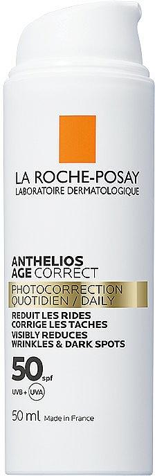 Codzienna fotoprotekcja przeciwstarzeniowa SPF 50+ - La Roche-Posay Anthelios Age Correct SPF50+ — фото N2
