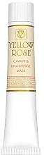Kup Maska do twarzy z ekstraktem z kawioru (tubka) - Yellow Rose Caviar & Marine DNA Face Mask