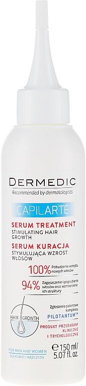 Serum-kuracja stymulująca wzrost włosów - Dermedic Capilarte — фото N2