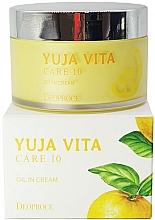 Kup Odmładzający krem cytrusowy do twarzy - Deoproce Yuja Vita Care 10 Oil in Cream