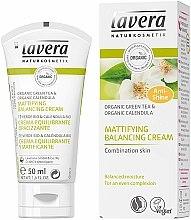 Kup Matujący krem balansujący do twarzy z zieloną herbatą - Lavera Mattifying Balancing Cream Green Tea