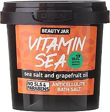 Kup Antycellulitowa sól morska do kąpieli z olejkiem grejpfrutowym - Beauty Jar Vitamin Sea Anticellulite Bath Salt