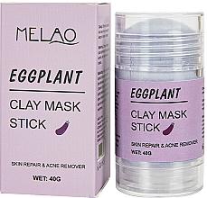 Kup Glinkowa maska w sztyfcie do twarzy Bakłażan - Melao Eggplant Clay Mask Stick