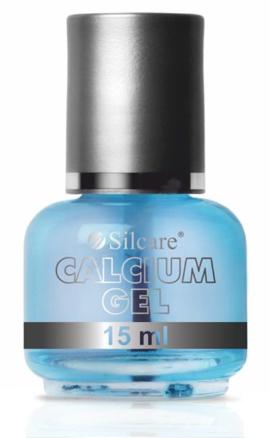 Odżywczy preparat do naturalnych i problematycznych paznokci - Silcare Calcium Gel  — фото N1