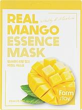 Kup Maseczka do twarzy z ekstraktem z mango - FarmStay Real Mango Essence Mask