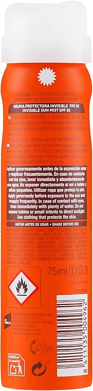 Spray przeciwsłoneczny SPF 30 - Ecran Sunnique Spray Protection SPF30 — фото N2