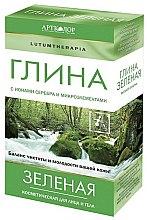 Kup Zielona glinka kosmetyczna do twarzy i ciała - Artkolor