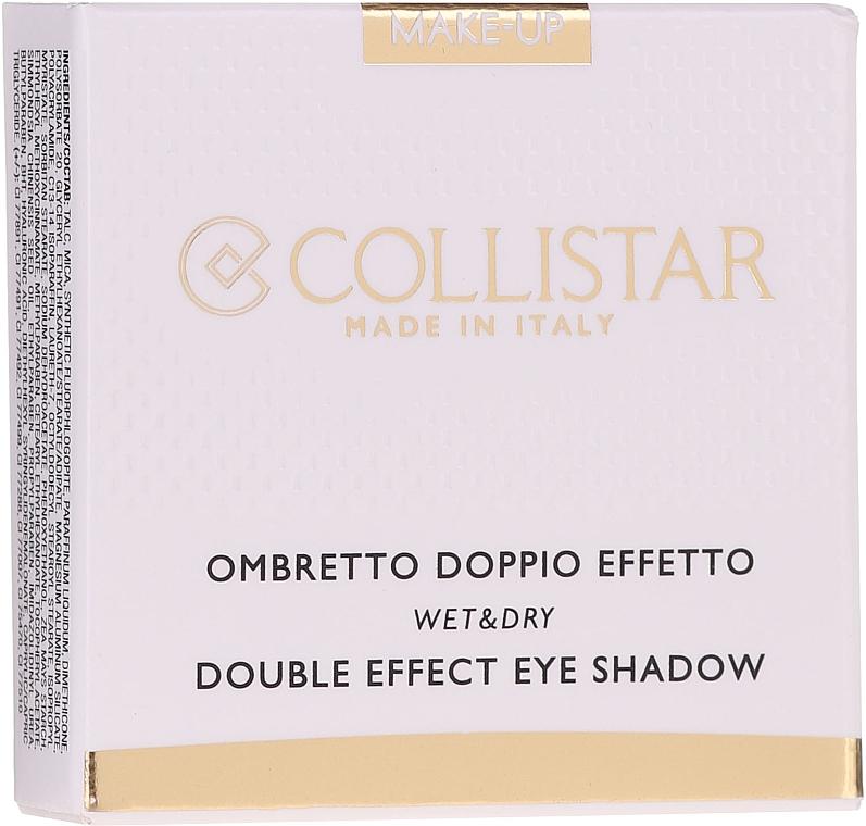 Cień do powiek - Collistar Double Effect Eye-Shadow Wet & Dry