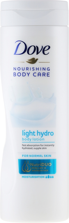Odżywczy balsam do ciała - Dove Nourishing Body Care Light Hydro Body Lotion