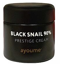 Kup Krem do twarzy ze śluzem z czarnego ślimaka - Ayoume Black Snail Prestige Cream