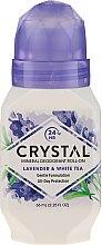 Kup Dezodorant w kulce o zapachu lawendy i białej herbaty - Crystal Essence Deodorant Roll-On