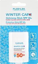 Kup Przeciwsłoneczny sztyft do twarzy Zimowa ochrona SPF50 - Floslek Winter Care Protective Stick