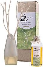 Kup Dyfuzor zapachowy (butelka z wymiennym wkładem 200 ml + wazon + 2 patyczki) - We Love The Planet Light Lemongras Diffuser