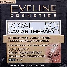 Kup Luksusowy krem-koncentrat redukujący zmarszczki 50+ - Eveline Cosmetics Royal Caviar Therapy Day Cream