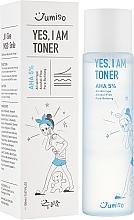 Kup Tonik do twarzy bez alkoholu do każdego typu cery - HelloSkin Jumiso Yes I Am Toner AHA 5%