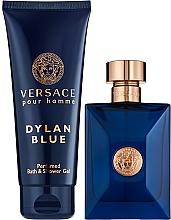 Kup Versace Dylan Blue Pour Homme - Zestaw (edt 100 ml + sh/gel 100 ml)
