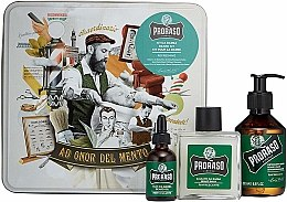 Kup Zestaw do brody - Proraso Refreshing Gift Set (beard wash/200ml + beard balm/100ml + beard oil/30ml)